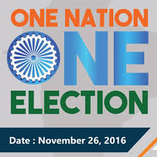 #OneNationOneElection!