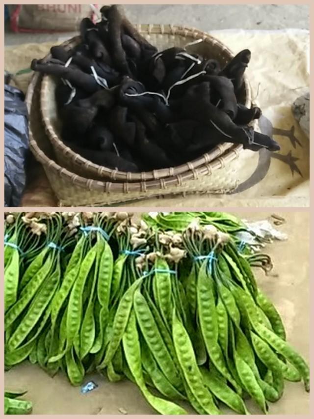 Tamenglong- Chutney material- beef skin, beans