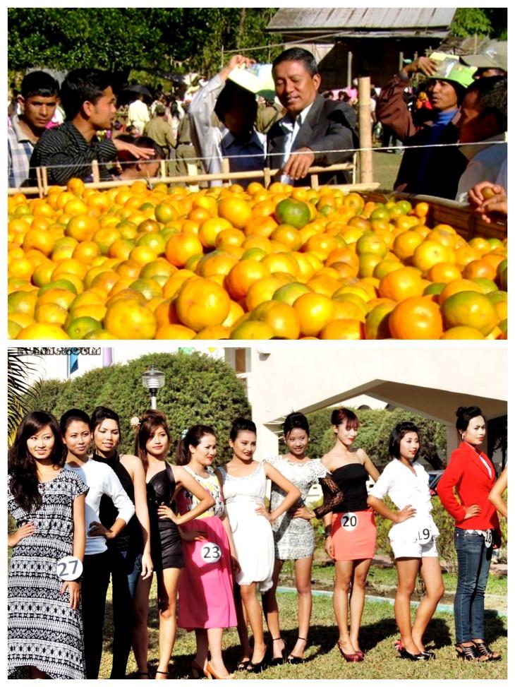Tamenglong Orange festival, beauty contest.jpg