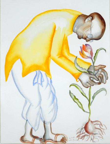 Bhupen Khakar-Perlongher poem 3