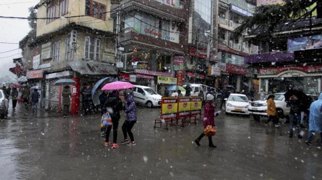 Dharamshala Rain
