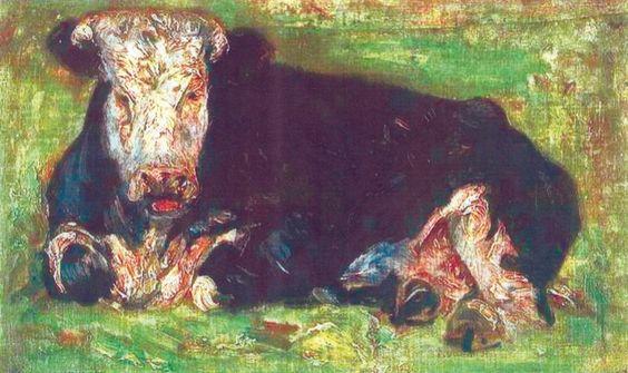 Vincent Van Gogh- Lowing Cow