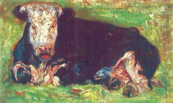Vincent Van Gogh- Lowing Cow